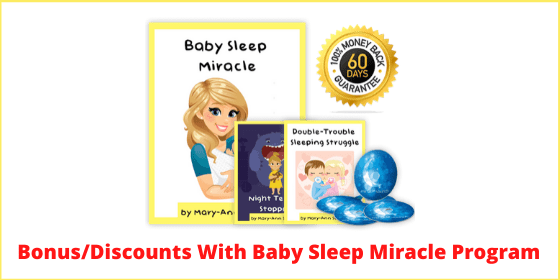 Bonus Discounts With Baby Sleep Miracle Program